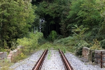 The old Sacile-Gemona railway in Pinzano Italy Photo Andrea Spinelli
