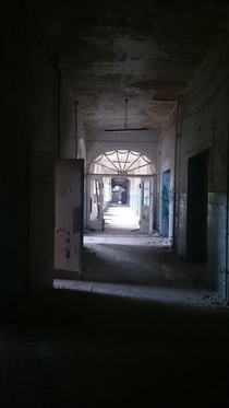 The old sanatorium Beelitz Heilsttten before they tore it down Beautiful doors