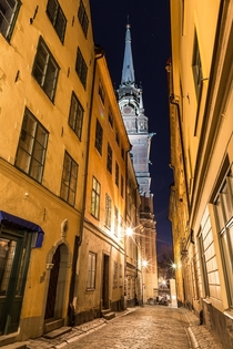 The old town of Stockholm Sweden