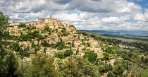 The old village of Gordes France covering the hillside