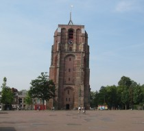 The oldehove a late gothic never finished leaning tower in my hometown of Leeuwarden The Netherlands