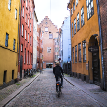 The oldest street in Copenhagen