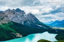 The one and only Peyto Lake