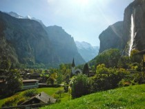 The only camera I had on me was from Costco what a shame Lauterbrunnen Switzerland x