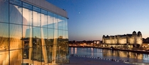 The Opera in Oslo at dawn Norway