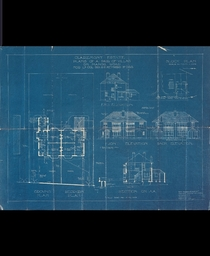 The original blueprint for my home c