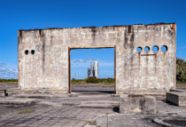 The original NASA launch pads are crumbling ruins right now and it looks like a scifi apocalypse Album in comments