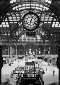 The original Penn Station Concourse in  two years before its demolition