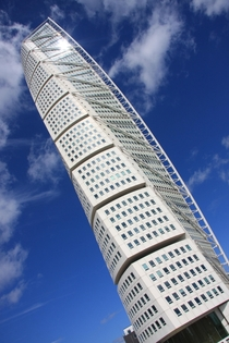 The original Turning Torso in Malmo We were lucky enough to get to the top floor  By Santiago Calatrava