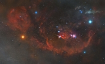 The Orion Constellation - I spent the last  years photographing this  Gigapixel mosaic of Orion
