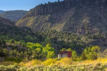 The Osiris Flour Mill - Built circa  still stands within the walls of Black Canyon Utah