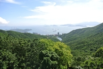 The other side of Hong Kong Island viewed from Victoria Peak