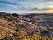 The Painted Desert - Arizona