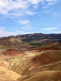 The Painted Hills in Eastern Oregon