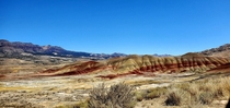 The Painted Hills located near Mitchell OR