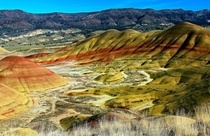 The Painted Hills Of Oregon USA by Cole Chase