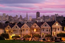 The Painted Ladies of San Francisco  Photographed by John Harke