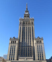 The Palace of Culture and Science in Warsaw Poland