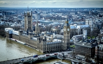 The Palace of Westminster and the River Thames London  Photographed by Carsten Pedersen