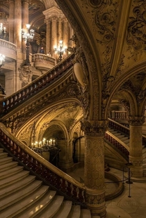 The Palais Garnier in Paris is an unquestionable masterpiece