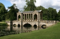 The Palladian Bridge Stowe Gardens