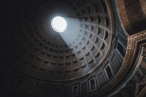 The Pantheon in Rome  x