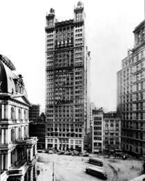 The Park Row Building in New York designed by RH Robertson c