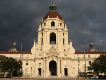 The Pasadena City Hall  Brownie points for anyone who knows why this building is particularly interesting