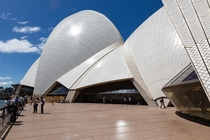 The patterns on the roof of the Sydney Opera House beautiful and in my case unexpected  Jrn Utzon