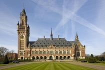 The Peace Palace seat of the International Court of Justice The Hague
