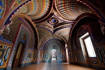 The Peacock Room Abandoned Castello di Sammezzano  - Unknown Photographer more in comments