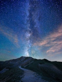 The peak of Loveland Pass also known as The Trail to the Milky Way