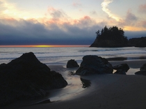 The perfect place to ponder stunning and mysterious Humboldt County California