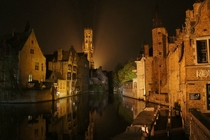 The picturesque town of Bruge Belgium