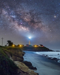 The Pigeon Point Space Beacon