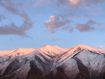 The pink mountains Spanish Fork UT