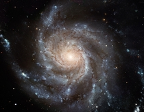 The Pinwheel Galaxy has around a trillion stars twice the number in the Milky Way