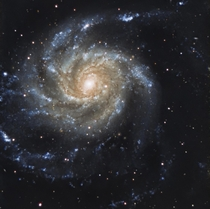 The Pinwheel galaxy M - I captured it last winter I really hope to manage to capture it again this winter just need some clear sky and quarantine over