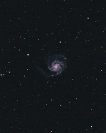 The Pinwheel Galaxy  Million Light Years Away Imaged from my City Backyard