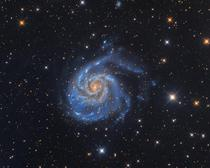 The pinwheel Galaxy One of the many galactic treasures in Ursa major