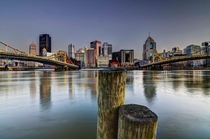 The Pittsburgh Posts  Taken from the north shore of Pittsburgh PA Sorry if youve seen this recently I had to repost it because my stated resolution was incorrect