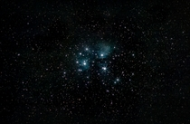 The Pleiades from my bortle  London backyard