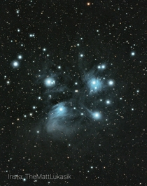 The Pleiades from my city backyard Need me some dark skies