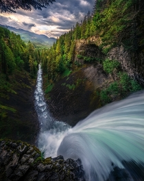 The Plunge Brandywine Falls Whistler BC Canada  Photo by Artur Stanisz