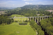 The Pontcysyllte Aqueduct and Canal