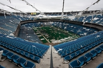The Pontiac Silverdome in