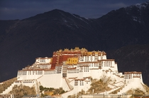 The Potala Palace in Lhasa Tibet