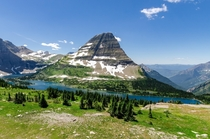 The Power of Nature and Time on Display in Bearhat Mountain and Hidden Lake in Glacier National Park Montana