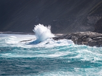 The power of the ocean Albany Western Australia
