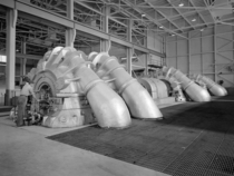 The Propulsion Systems Laboratorys exhaust system that was expanded in  at the National Advisory Committee for Aeronautics Lewis Flight Propulsion Laboratory